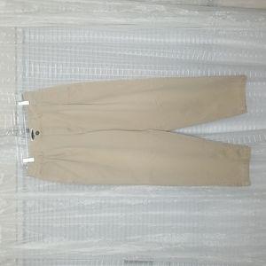 VTG 90's Bugle Boy Khaki Pleated Pants 32W 30L